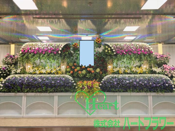 菊ベース祭壇