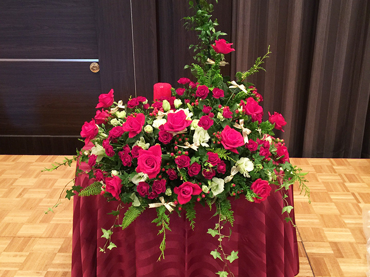 婚礼用生花
